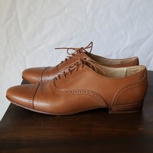 Jcrew Leather Oxford shoes